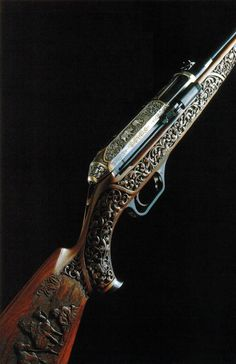 Don't know what make/model but absolutely beautiful engraving of safari scenes Weapons Guns, Guns And Ammo, Bushcraft, Gun Art, Custom Guns, Fire Powers, Hunting Rifles, Cool Guns, Self Defense