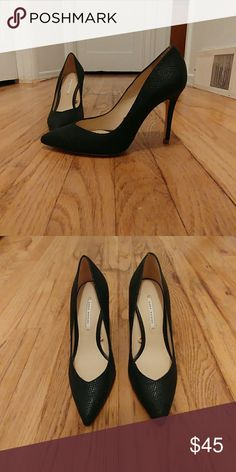 67956c25c0 6 / Zara Heels Size 6 Zara Women's heels / Black with a texture feel and  look / These heels look so classy and beautiful / I got them in the wrong  ...