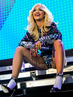 Star Tracks: Tuesday, October 28, 2014 | WONDER WOMAN | Fresh off of her Saturday Night Live appearance, Rita Ora takes it all in as she performs at a private event in Russia on Monday.