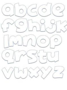 Alphabet Design, Alphabet Templates, Doodle Alphabet, Graffiti Lettering Alphabet, Cool Lettering, Lettering Styles, Bubble Letter Fonts, Bullet Journal Ideas Pages, Calligraphy Letters