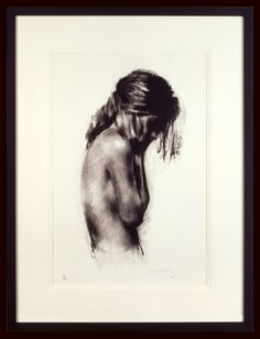 Charlie Mackesy | 'Girl' | Limited Edition Signed Lithograph | 74 x 53 cm