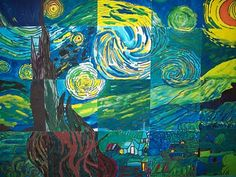 starry night inspired