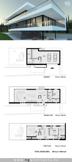 Exterior Modern Villa Arquitetura Ideas For 2019 Contemporary Stairs, Contemporary Building, Contemporary Cottage, Contemporary Interior, Contemporary Architecture, Architecture Design, Contemporary Wallpaper, Contemporary Chandelier, Contemporary Office