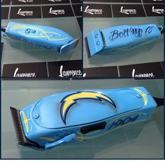 Custom Chargers themed Andis Master clipper created by Lawrence The Barber from Funk's Custom Clippers Website- http://www.funkscustomclippers.com Email- funkscustomclippers@yahoo.com