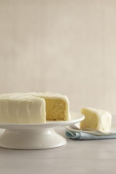 Slow Cooker Lemon Cake from familycircle.com #myplate #desserts #slowcooker