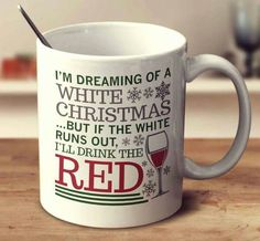 I'm Dreaming Of A White Christmas – mug-empire Christmas Coffee, White Christmas, Wine O Clock, Wine List, Wines, Coffee Cups, Tableware, Empire, Drawing