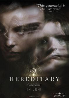 New Poster for Horror 'Hereditary' - Starring Toni Collette, Gabriel Byrne, Alex Wolff, and Ann Dowd Comedy Movies On Netflix, Marvel Movies, Film Movie, 2018 Movies, Imdb Movies, Cinema Film, Scary Movies, Horror Movies, Good Movies