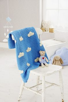 DIY: blue sky croche