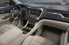 The 2020 GMC Acadia sits in the basal third of our midsize SUV rankings. It's comfortable, and it offers some nice tech features, but the Acadia additionally Understand The Background Of 3 Gmc Acadia Interior Now Acadia Denali, Luxury Crossovers, Mid Size Suv, Buick Enclave, Chevrolet Traverse, Head Up Display, Car Images, Rear Seat