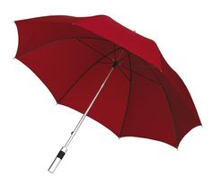 SATELLITE MOQ 24 pcs Aluminium fibreglass golf umbrella