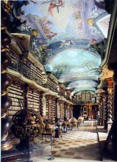 clementinum-library-prague
