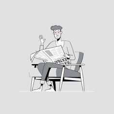Art&Graft on - illustration character People Illustration, Line Illustration, Character Illustration, Digital Illustration, Character Design Animation, Character Art, Line Art, Ligne Claire, Branding