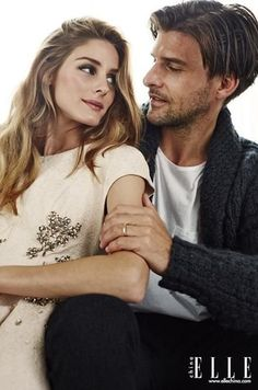 Olivia Palermo and Johannes Huebl for ELLE China February 2015