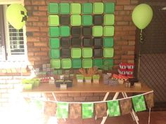 Minecraft Birthday Party Ideas | Photo 15 of 19 | Catch My Party
