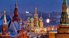 Papel de Parede - Paisagem de Moscou - Russia