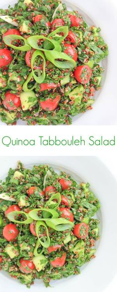 Quinoa Tabbouleh Salad - The Lemon Bowl
