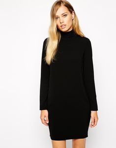Enlarge Whistles Mia Dress with High Neck