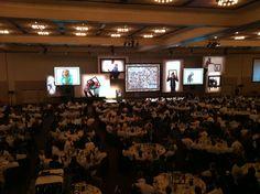 The Big Brothers & Big Sisters Breakfast in the Oregon Ballroom 2011