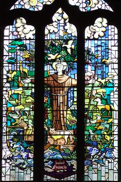 St. Francis at St. Mary and All Saints in Chesterfield