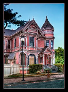 Eureka CA...love our walks in the old part of town.