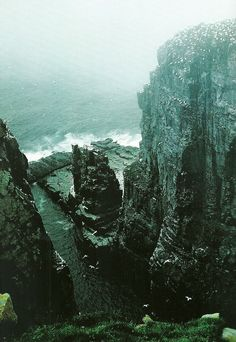 Cape St. Mary's, Newfoundland National Geographic   May 1986
