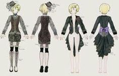 Alois Trancy's outfits archetypes