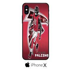 Atlanta Falcons Julio Jones Cartoon IPHONE X
