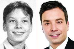Jimmy Fallon then and now