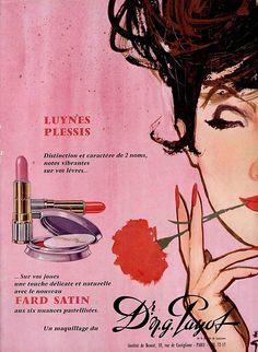 60s ad : Make-up by Payot | Flickr - Photo Sharing!
