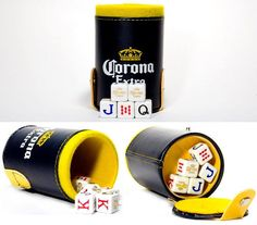Cerveza Corona Beer Cubilete Poker Cup Shaker Dice Game, Great For Party, new Christmas Gifts For Boyfriend, Valentine Day Gifts, Valentines, Cup Games, Shaker Cup, Best Valentine's Day Gifts, Corona Beer, Gifts For Father, Party Games
