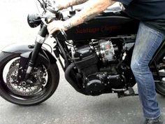 Custom Honda CB-856