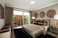 couleur de chambre apaisante - la palette neutre s'invite dans la chambre à coucher contemporaine