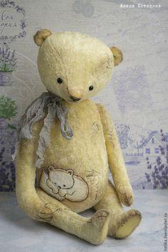 Купить little Lily - лимонный, мишки тедди, мишка, тедди, теддик, медвежонок
