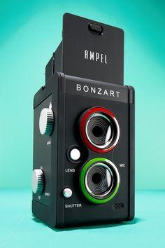 Bonzart Ampel Tilt-Shift Camera: Fun With Tilt-Shift