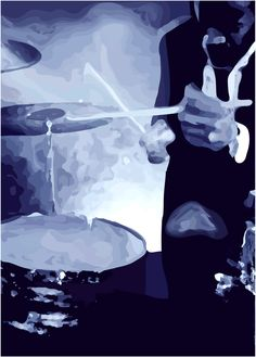 drummer painting