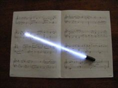 a light saber conductor's baton
