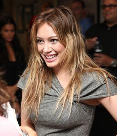Blonde Ombre Hair Trend: Hilary Duff