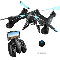 TOYEN GordVE RC Drone FPV Wifi Remote Control Quadcopter with HD Camera -- You can find out more details at the link of the image. (This is an affiliate link) App One, Small Drones, Remote Control Drone, Indoor Activities For Kids, Camera Reviews, Drone Quadcopter, Gifts For Boys, Wifi, Boy Or Girl