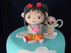 Ni Hao Kai Lan cake! Chance would love this. he is all about Kai Lan