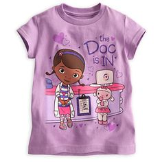 Doc McStuffins and Lambie Tee for Girls   Tees, Tops & Shirts   Disney Store
