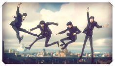 the Beatles by Jamie Hewlett