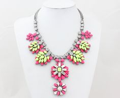 Statement Necklace Bib Necklace Bib Statement by Necklace21, $19.90