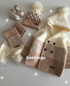 Görüntünün olası içeriği: 1 kişi Source by zumrutbaol Baby Sweater Patterns, Baby Sweater Knitting Pattern, Knitted Baby Cardigan, Knit Baby Sweaters, Baby Knitting Patterns, Baby Patterns, Knitting For Kids, Hand Knitting, Diy Vetement