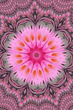 American Hippie Art Mandala | Zentangle | Sacred Geometry Art Print | Meditation | Illustration & Design | Buddhism