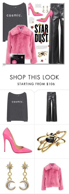 """""""We Are Star Dust"""" by jgee67 ❤ liked on Polyvore featuring Juvia, Calvin Klein 205W39NYC, Christian Louboutin, Christian Lacroix, Sophie Harley London, Topshop, Reine, polyvoreblogger and polyvoreeditorial"""