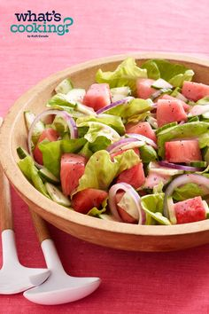 Watermelon Salad #recipe