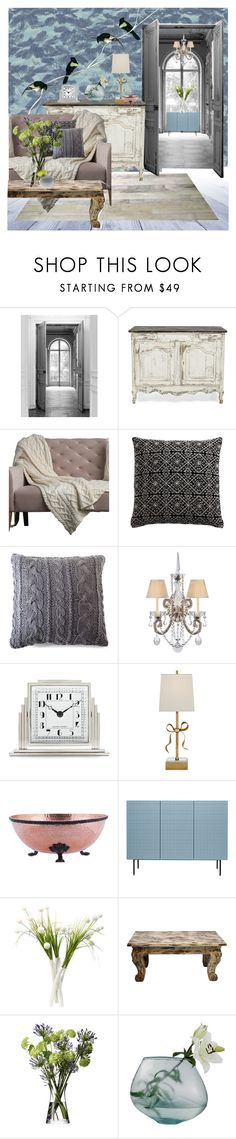 """Wallpaper Time"" by frenchfriesblackmg ❤ liked on Polyvore featuring interior, interiors, interior design, home, home decor, interior decorating, Maison Margiela, abcDNA, Lemon and Aniza"