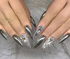 100 Best Nail Arts That You Will Love – 2017 #PopularNailShapes