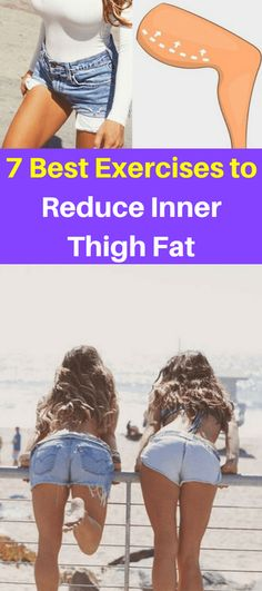 Here Are 7 Best Exercises To Reduce Inner Thigh Fat! Here Are 7 Best Exercises To Reduce Inner Thigh Fat! Cellulite Wrap, Causes Of Cellulite, Reduce Cellulite, Anti Cellulite, Cellulite Remedies, Cellulite Exercises, Cellulite Workout, Killer Workouts, Easy Workouts