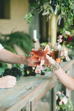 Custom wedding cockt